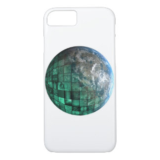 Business Technology Global Network with Futuristic iPhone 7 Case