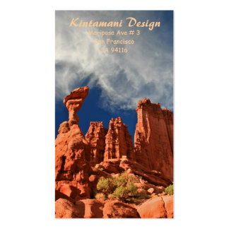 Bussiness card - Fisher Towers-3 Pack Of Standard Business Cards