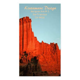 Bussiness card - Fisher Towers-7 Pack Of Standard Business Cards