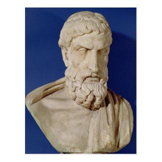 Bust of Epicurus Postcard