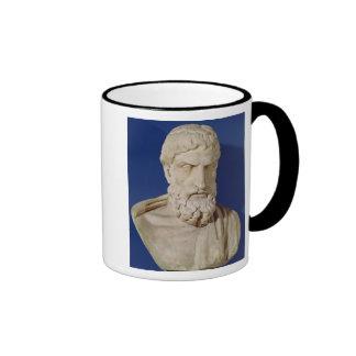 Bust of Epicurus Ringer Mug