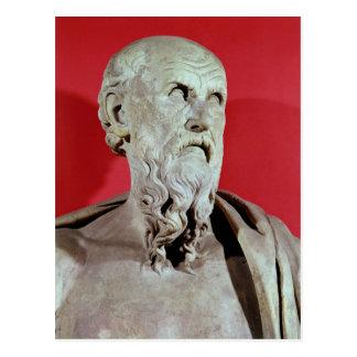 Bust of Hesiod Postcard