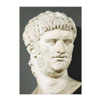 Bust of Nero Gallery Wrap Canvas