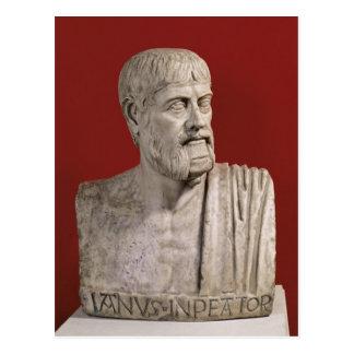 Bust presumed to be Flavius Claudius Julianus Postcard