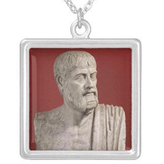 Bust presumed to be Flavius Claudius Julianus Square Pendant Necklace