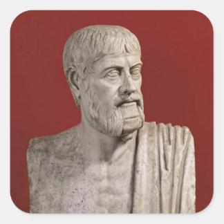 Bust presumed to be Flavius Claudius Julianus Square Sticker