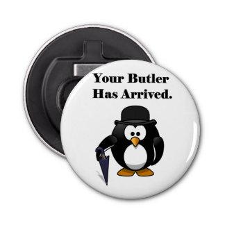 Butler Penguin Cute Cartoon with Umbrella