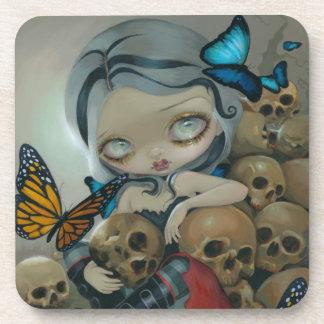 """""""Butterflies and Bones"""" Coaster"""