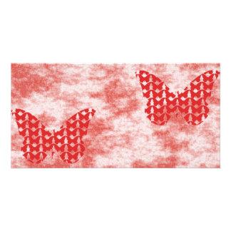 Butterflies Customized Photo Card
