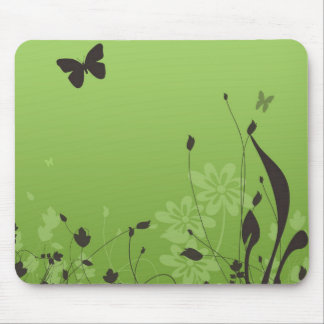 Butterfly away mouse pad