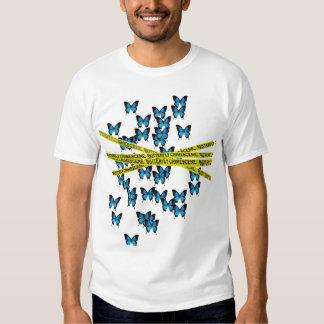 Butterfly Crimescene Tee Shirt