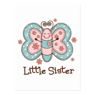 Butterfly Little Sister Postcard