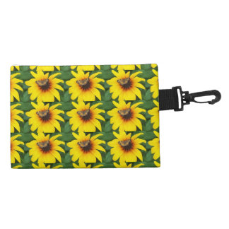 Butterfly On Sunflower Clip-On Accessories Bag