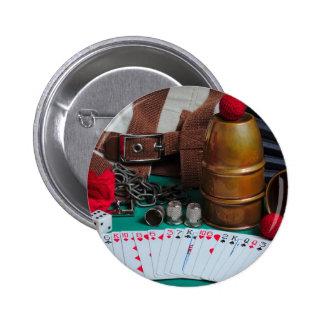 Button: The Magician's Retreat 6 Cm Round Badge