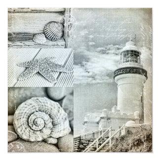 Byron Bay Lighthouse 13 Cm X 13 Cm Square Invitation Card