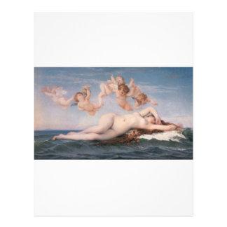 Cabanel Alexandre The Birth of Venus 1863 21.5 Cm X 28 Cm Flyer