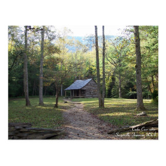 Cabin in the Smoky Mountains, Tennessee Postcard