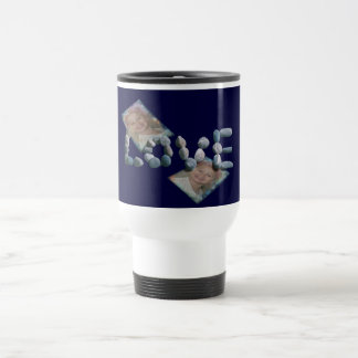 Caden/Love Stainless Steel Travel Mug