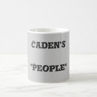 """Caden's""""People"""" Basic White Mug"""
