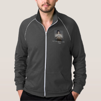CAfe TMA - Casual Sport Pullover.. Printed Jackets