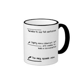 Caffeine Level Measurements Ringer Mug