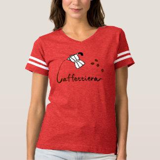 Caffettiera Women's Football T-Shirt