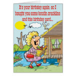Cajun Good Time Greetings Greeting Card