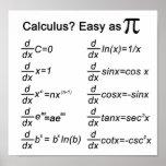 Calculus Basic Print