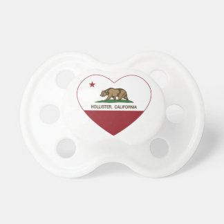 california flag hollister heart baby pacifiers