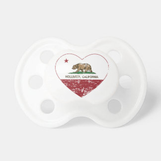 california flag hollister heart distressed baby pacifiers