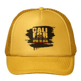 CALIFORNIA PRIDE WHITE CAP