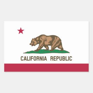 California Republic State Flag, United States Rectangular Sticker