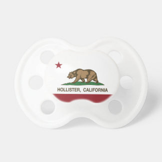 California State Flag Hollister Pacifier