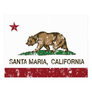 California State Santa Maria Postcard