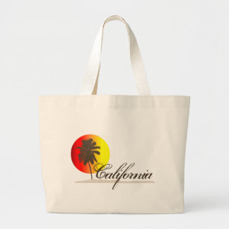 California Sunset Jumbo Tote Bag
