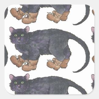Caligula (Little Boots) Square Sticker