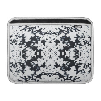 Calista Stylish Fashion Motif Design in White MacBook Air Sleeve