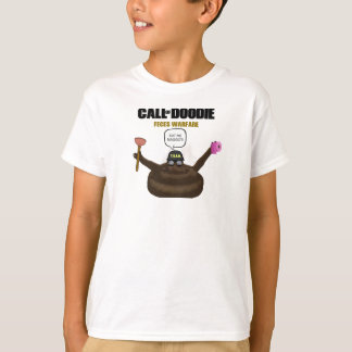 Call Of Doodie Kids' Hanes Tagless T-Shirt