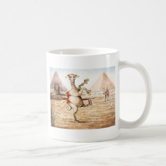 Camel Dance Basic White Mug