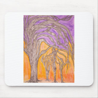 Camel Thorn Trees Mouse Pad