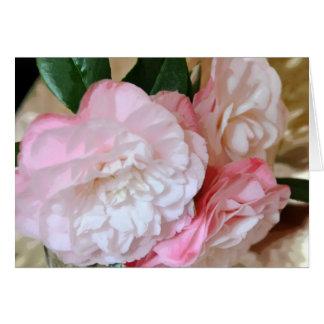 Camellia Flower Greeting Card