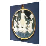 Cameo commemorating the Naval victory of Canvas Prints