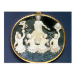 Cameo commemorating the Naval victory of Postcard