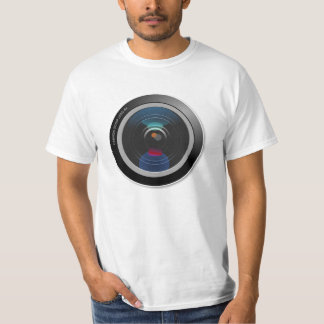 'Camera Lens' Photography T-Shirt