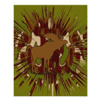 Camouflage Moose Break-out Camo 11.5 Cm X 14 Cm Flyer