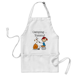 Camping is Yummy Standard Apron
