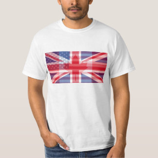 Canada. America. The UK. All in One Tee Shirts