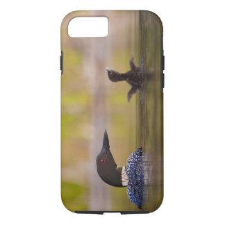 Canada, British Columbia,Common Loon, breeding 3 iPhone 7 Case