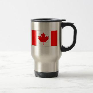 Canada FLAG International Stainless Steel Travel Mug
