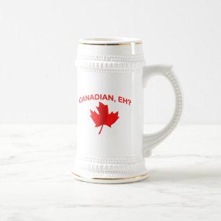 Canadian, eh? 2 beer steins